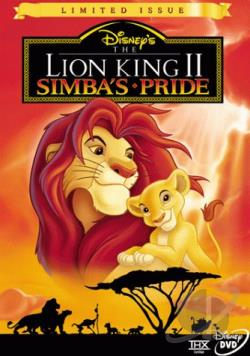 Lion King II: Simba's Pride DVD Cover Art