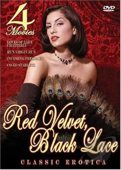 Red Velvet, Black Lace DVD Cover Art