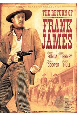 Return of Frank James DVD Cover Art