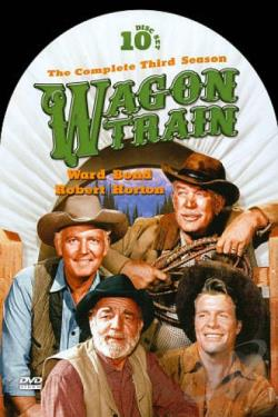 Wagon Train - The Complete Third Season DVD Cover Art