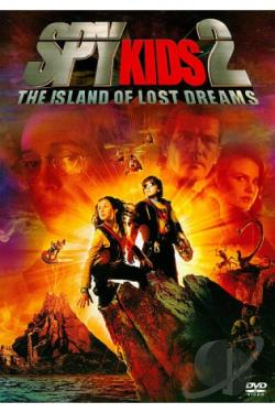 Spy Kids 2: Island of Lost Dreams DVD Cover Art