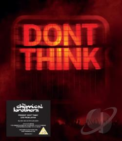 Chemical Brothers: Don't Think - Live from Japan BRAY Cover Art