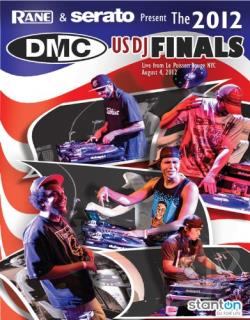 DMC: The 2012 US DJ Finals DVD Cover Art