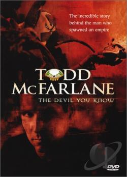 Todd McFarlane: The Devil You Know DVD Cover Art