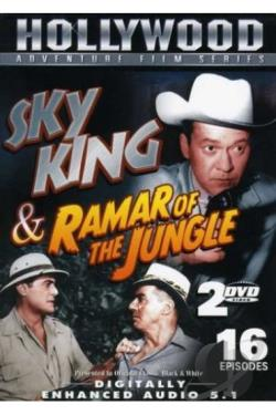 Hollywood Adventure Film Series: Sky King & Ramar of the Jungle DVD Cover Art