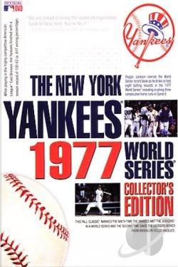 1977 MLB World Series - New York Yankees DVD Cover Art