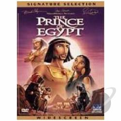Prince of Egypt DVD Cover Art
