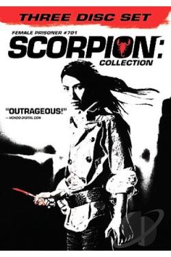 Female Prisoner #701 Scorpion - Collection DVD Cover Art