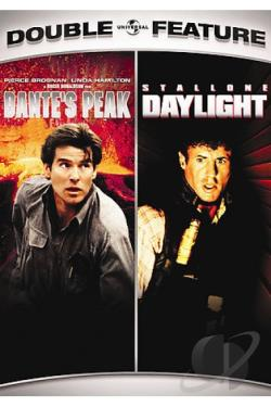 Dante's Peak/Daylight Double Feature DVD Cover Art