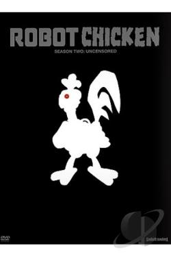 Robot Chicken - Season 2 DVD Cover Art