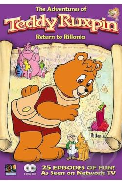 Adventures of Teddy Ruxpin - Return to Rillonia DVD Cover Art