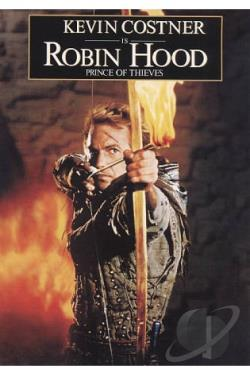 Robin Hood: Prince of Thieves DVD Cover Art
