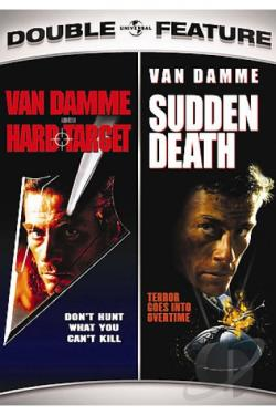 Hard Target/Sudden Death Double Feature DVD Cover Art
