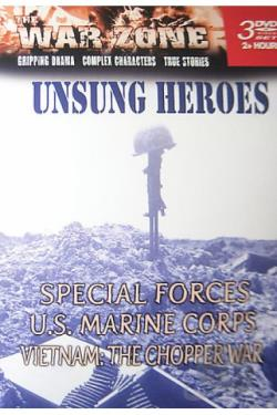 War Zone - Unsung Heroes DVD Cover Art