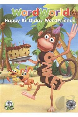 WordWorld: Happy Birthday, WordFriends! DVD Cover Art