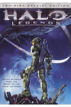 Halo Legends DVD Cover Art