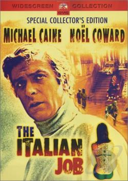 Italian Job (1969) DVD Cover Art