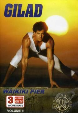 Gilad: Bodies In Motion - Pier Beach Workout DVD Cover Art