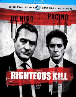 Righteous Kill BRAY Cover Art