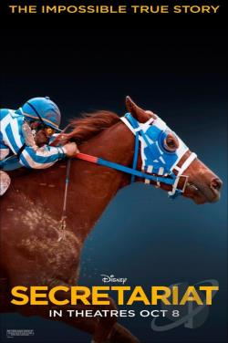 Secretariat DVD Cover Art