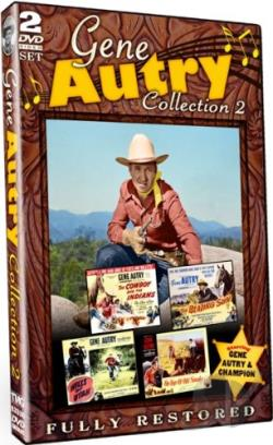 Gene Autry: Collection 2 DVD Cover Art