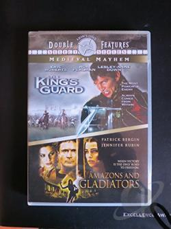 King's Guard/Amazons and Gladiators DVD Cover Art
