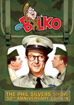 Sgt. Bilko: The Phil Silvers Show - 50th Anniversary Edition DVD Cover Art