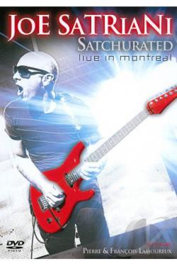 Joe Satriani: Satchurated - Live in Montreal DVD Cover Art