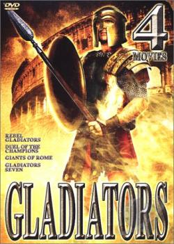 Gladiators - 4 Movie Set DVD Cover Art