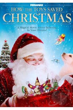 How the Toys Saved Christmas DVD Cover Art