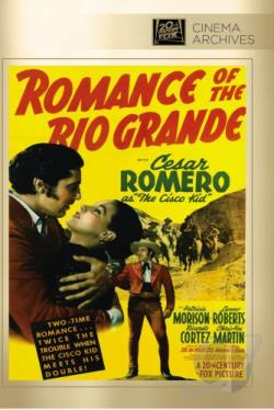 Romance of the Rio Grande DVD Cover Art