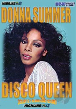Donna Summer - Disco Queen DVD Cover Art