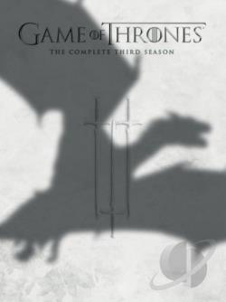 Game of Thrones - The Complete Third Season DVD Cover Art