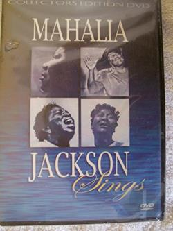 Mahalia Jackson - Sings: Col DVD Cover Art