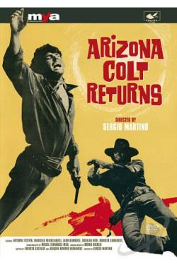 Arizona Colt Returns DVD Cover Art