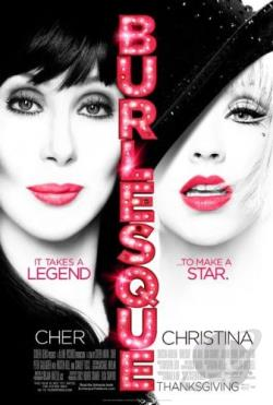 Burlesque DVD Cover Art