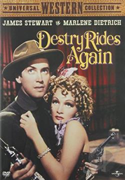 Destry Rides Again DVD Cover Art