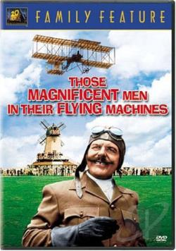 Those Magnificent Men In Their Flying Machines DVD Cover Art