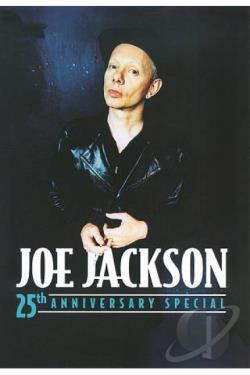 Joe Jackson - 25th Anniversary Special DVD Cover Art