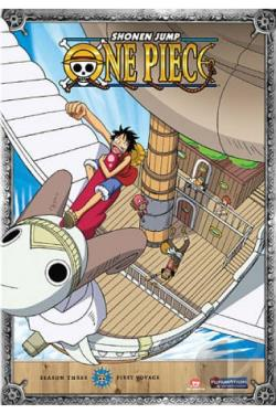 One Piece: Season 3 - First Voyage DVD Cover Art