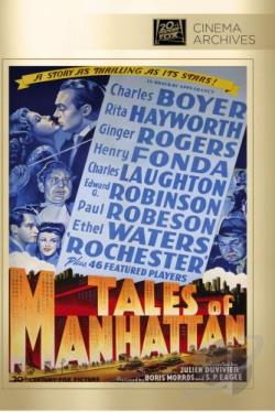 Tales of Manhattan DVD Cover Art