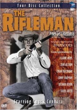 Rifleman - Boxed Set Collection 6 DVD Cover Art