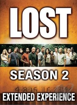 Lost - The Complete Second Season DVD Cover Art