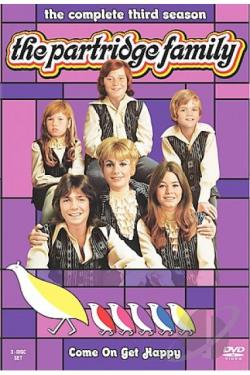 Partridge Family - The Complete Third Season DVD Cover Art
