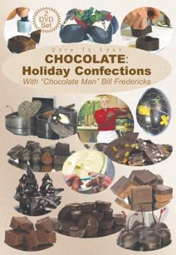 Dare To Cook Chocolate:Holiday Confec DVD Cover Art