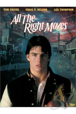 All the Right Moves DVD Cover Art