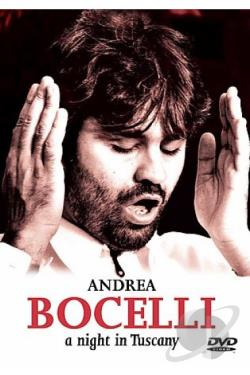 Andrea Bocelli - A Night in Tuscany DVD Cover Art