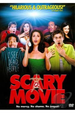 Scary Movie DVD Cover Art