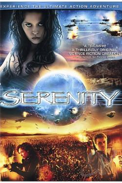 Serenity DVD Cover Art