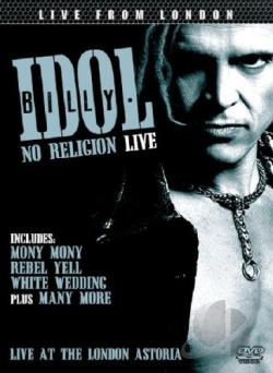 Billy Idol: No Religion - Live DVD Cover Art